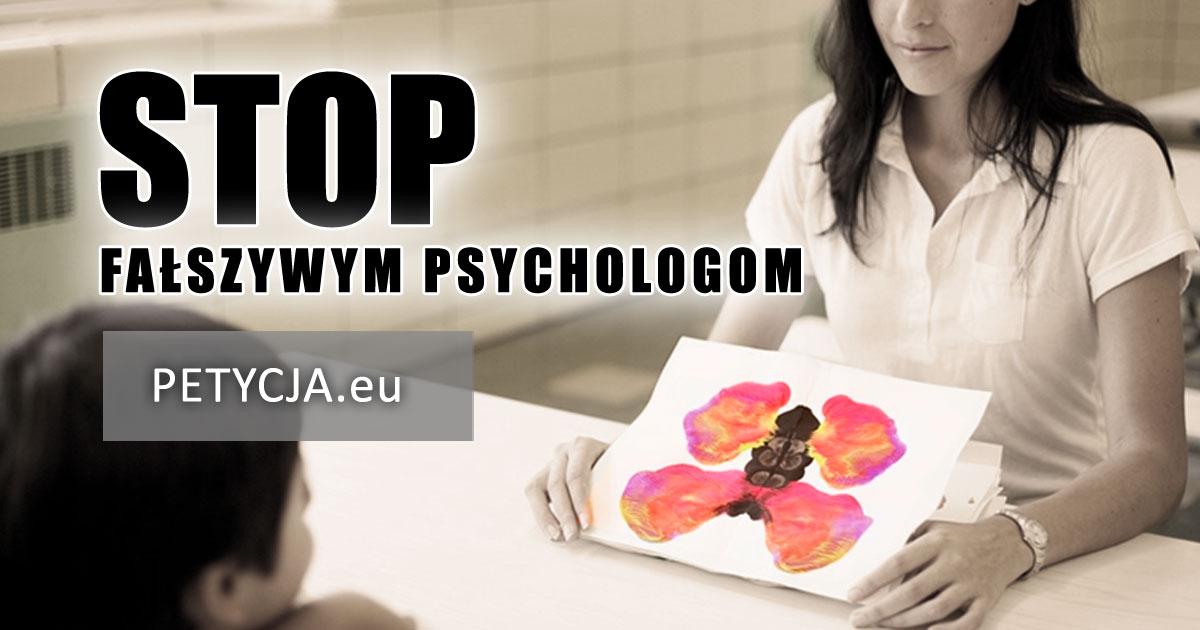 Petycja – Stop fałszywym psychologom